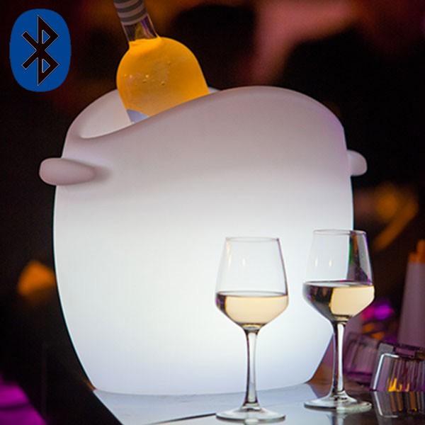 Seau à champagne So Fresh Bluetooth® Smart And Green Jardinchic