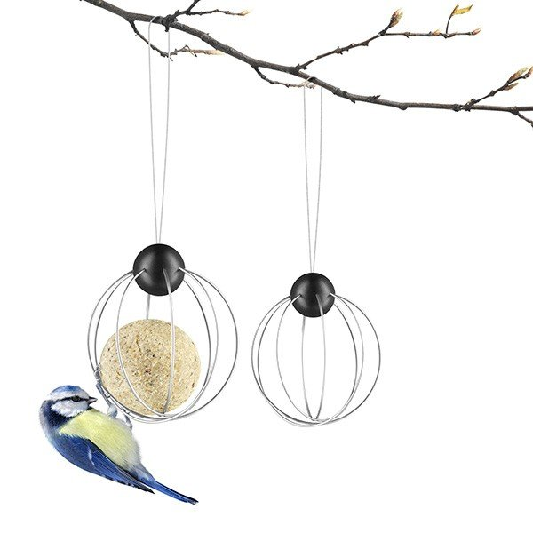 Set de 2 Support de Boules pour Oiseaux Eva Solo Jardinchic