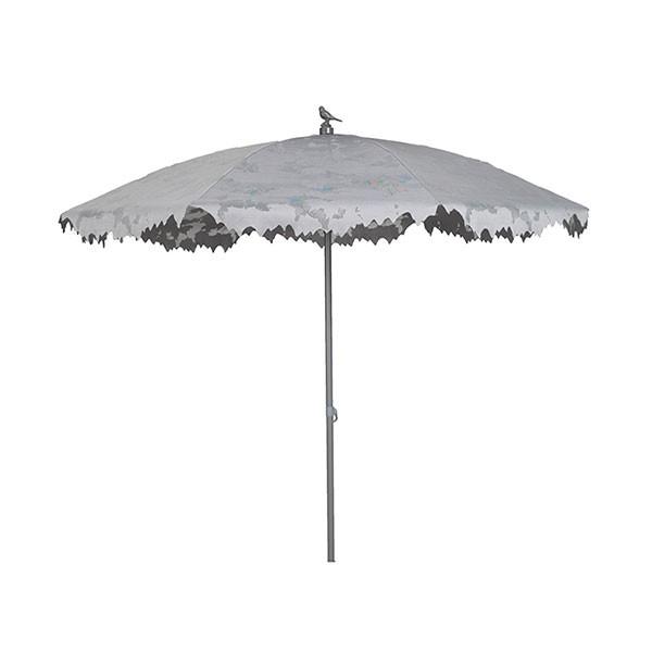 Parasol Shadylace Blanc avec socle non inclus Sywawa Jardinchic