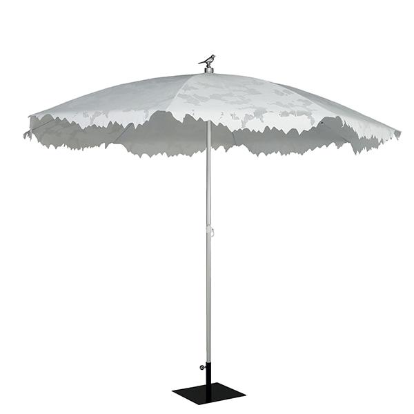 parasol shadylace xl blanc jardinchic. Black Bedroom Furniture Sets. Home Design Ideas