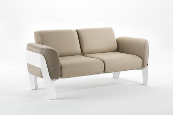 sofa 2 places bienvenue jardinchic. Black Bedroom Furniture Sets. Home Design Ideas
