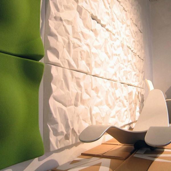 panneau acoustique mural soundwave scrunch jardinchic. Black Bedroom Furniture Sets. Home Design Ideas