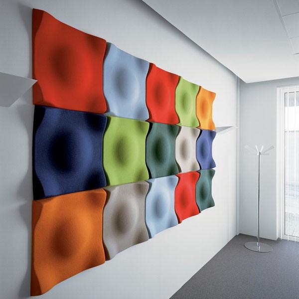 panneau acoustique mural soundwave swell jardinchic. Black Bedroom Furniture Sets. Home Design Ideas