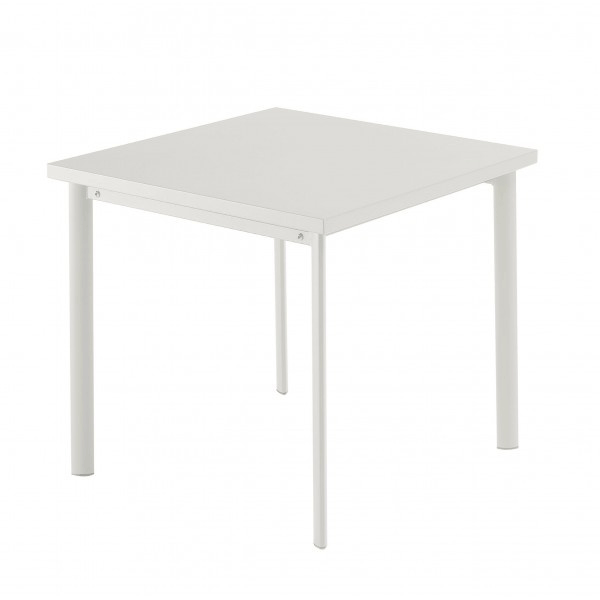 Table carrée Star 70cm Blanc Emu JardinChic