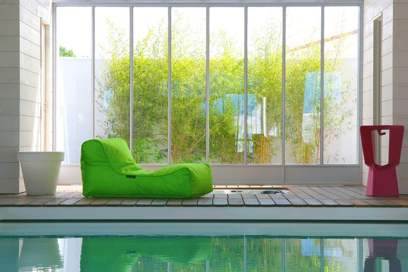 sofa pouf studio lounger jardinchic. Black Bedroom Furniture Sets. Home Design Ideas