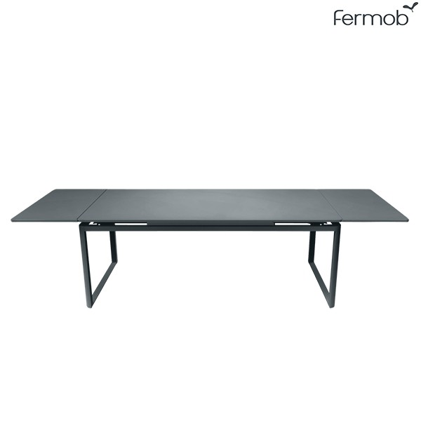 Table à Allonges Biarritz Gris Carbone Fermob Jardinchic
