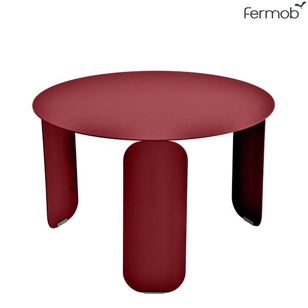 Table Basse Bebop Ø60cm Piment Fermob Jardinchic