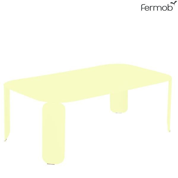 Table Basse Rectangulaire Bebop H29cm Citron Givré Fermob Jardinchic