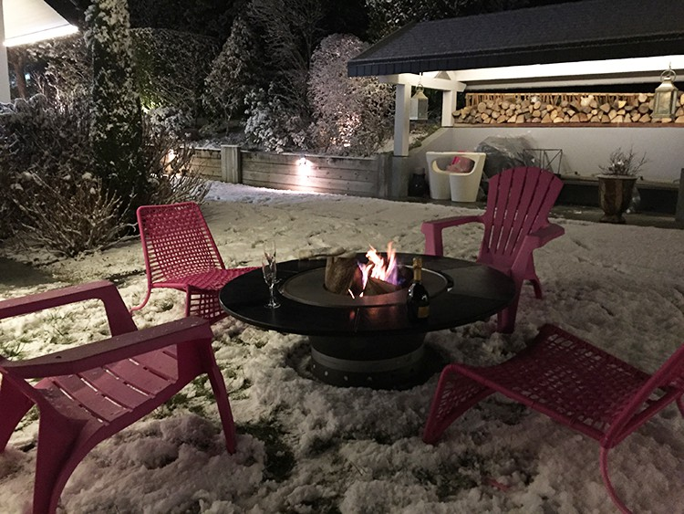table basse bras ro plancha fusion bois jardinchic. Black Bedroom Furniture Sets. Home Design Ideas