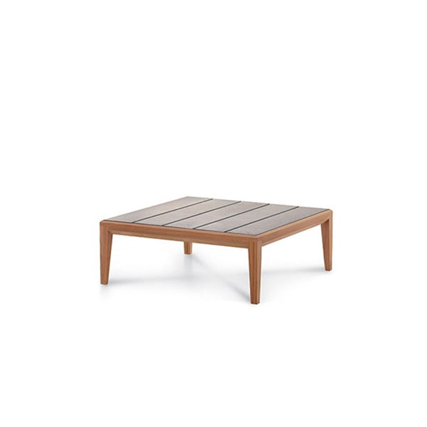 Table Basse Carrée Teka Roda JardinChic