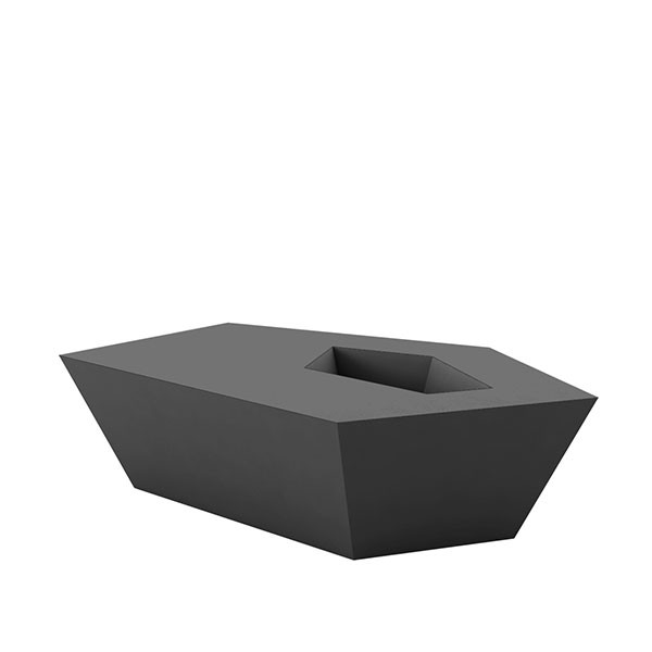 Table basse faz jardinchic for Table basse gris anthracite