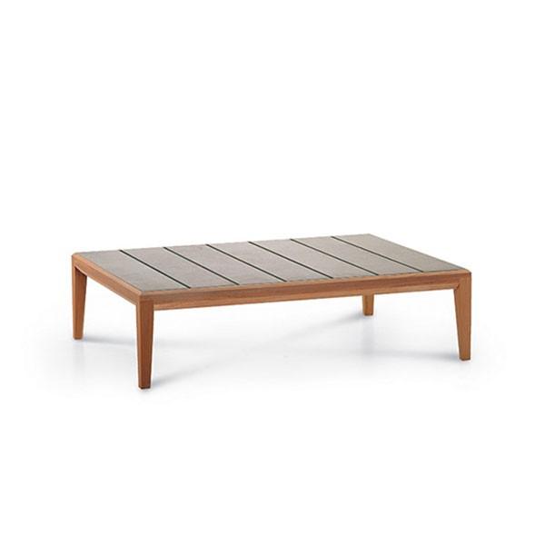 Table Basse Rectangulaire Teka Roda JardinChic