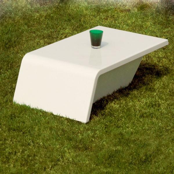 Table Basse Rest Gris Anthracite Vondom JardinChic