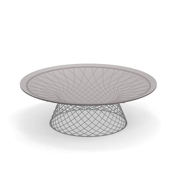 Table Basse Ronde Ø120 Heaven Aluminium Emu JardinChic