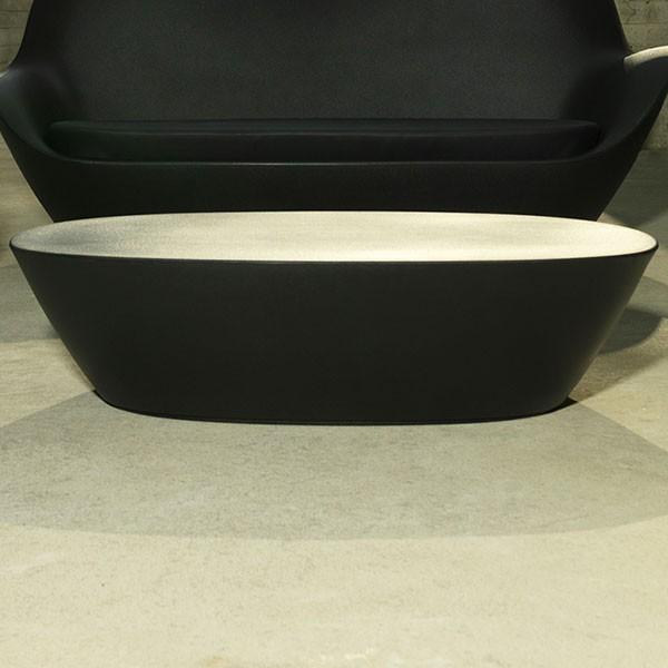 Table Basse Sabinas Noir Vondom Jardinchic