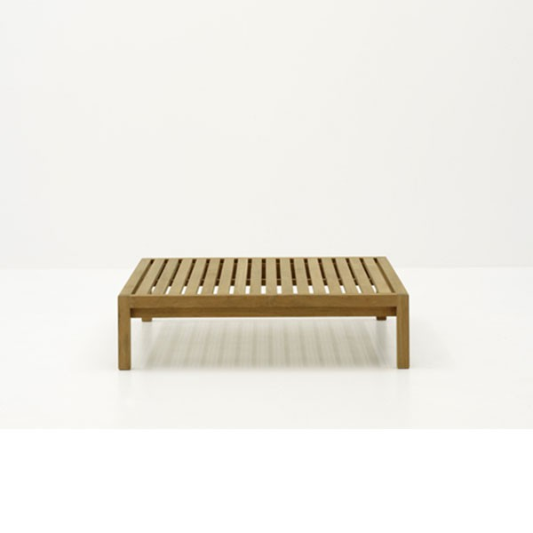Housse De Protection Pour Table Basse Carrée Plateau En Teck H28cm ...