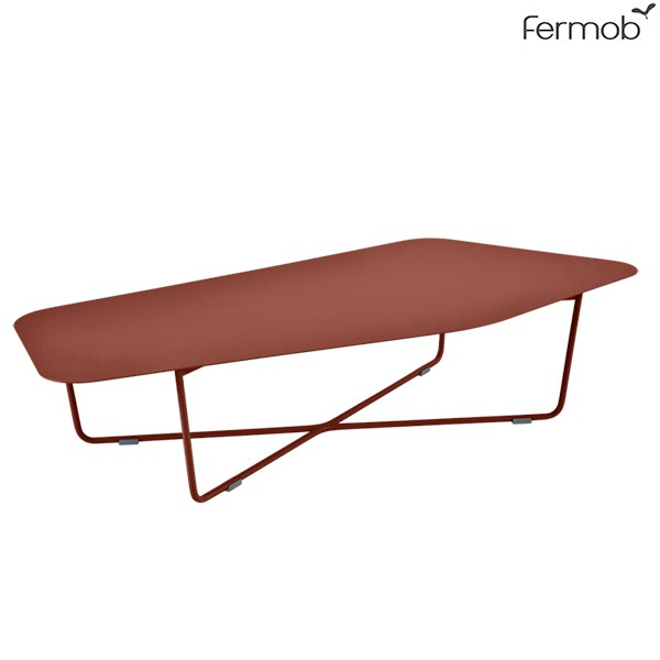 Table Basse Ultrasofa Ocre Rouge Fermob Jardinchic