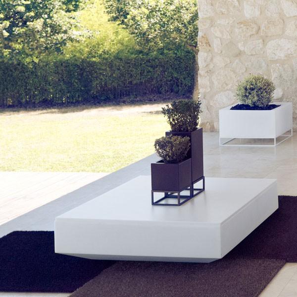 Table Basse Vela Blanc Vondom JardinChic