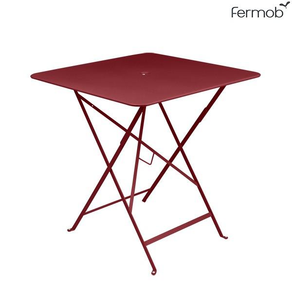 Table Bistro 71 x 71cm Piment Fermob Jardinchic