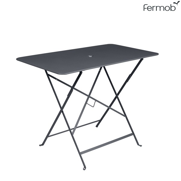 Table Bistro 97 x 57cm Carbone Fermob Jardinchic