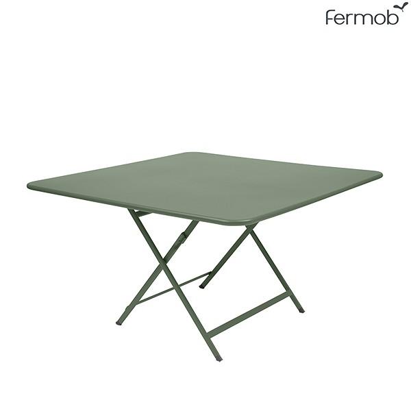 Table Caractère 128 x 128cm Cactus Fermob Jardinchic