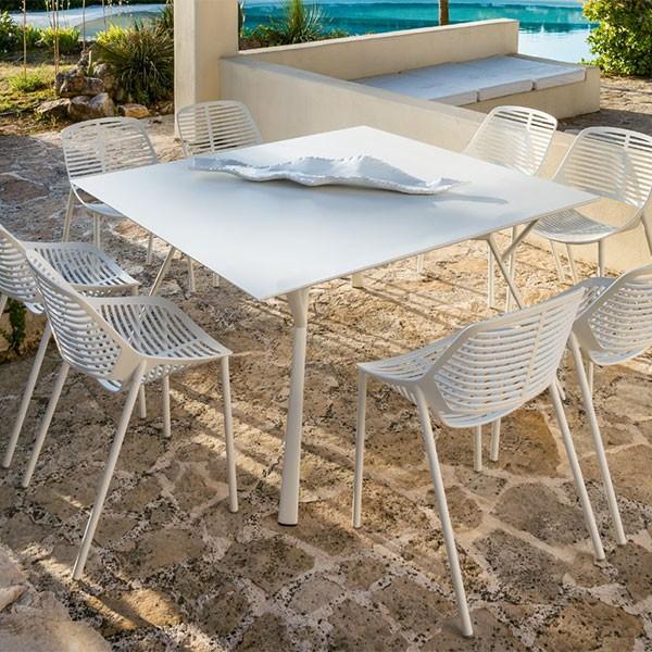 Table Carrée Radice Quadra Fast JardinChic