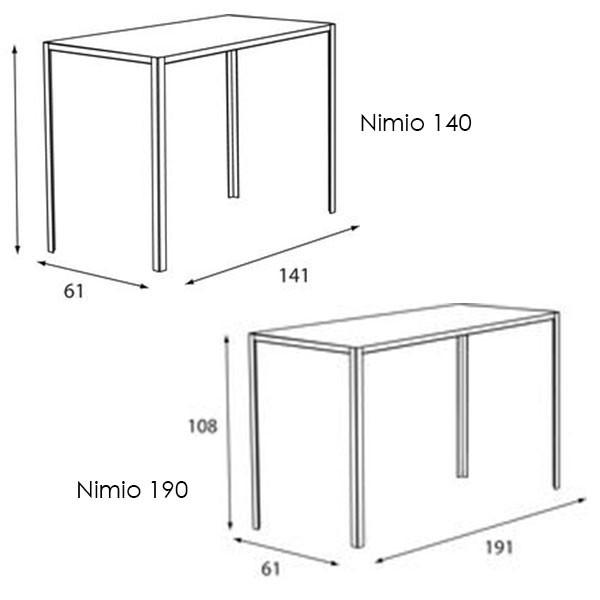 table de bar nimio cima jardinchic. Black Bedroom Furniture Sets. Home Design Ideas
