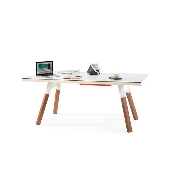Table de ping pong l180cm you and me jardinchic for Table ping pong interieur