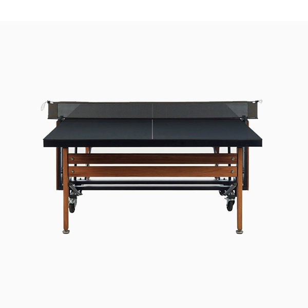 Table de ping pong a roulettes rs folding jardinchic - Housse table de ping pong exterieur ...