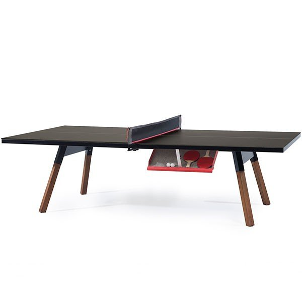 Table De Ping-Pong You And Me Noir RS Barcelona JardinChic