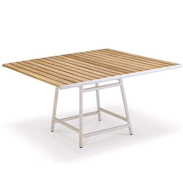 Table de Repas Pilotis 135x135cm Vlaemynck Jardinchic