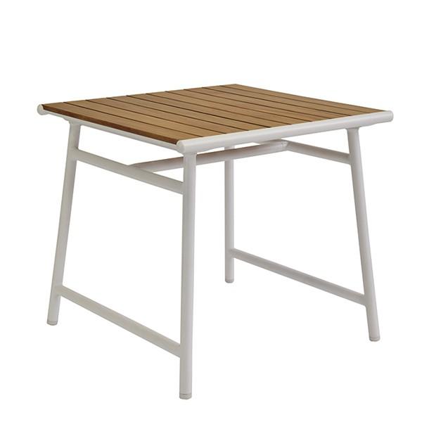 Table de Repas Pilotis 80x80cm Vlaemynck Jardinchic