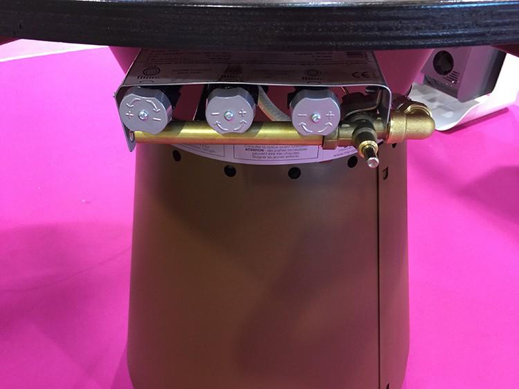 Table haute bras ro plancha fusion gaz jardinchic - Peinture fusion metal ...