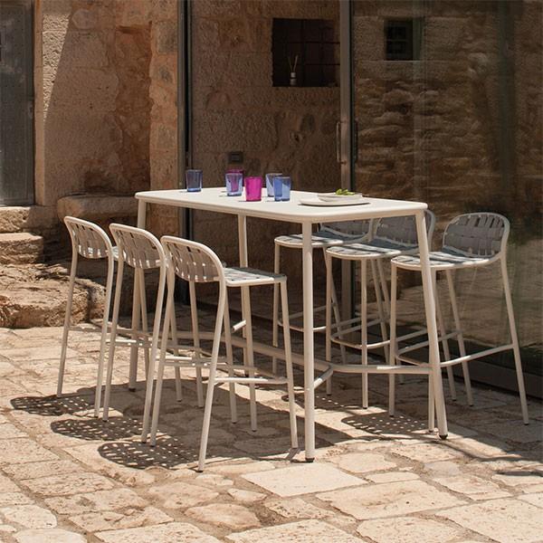 Table Haute Plateau Aluminium Yard - JardinChic