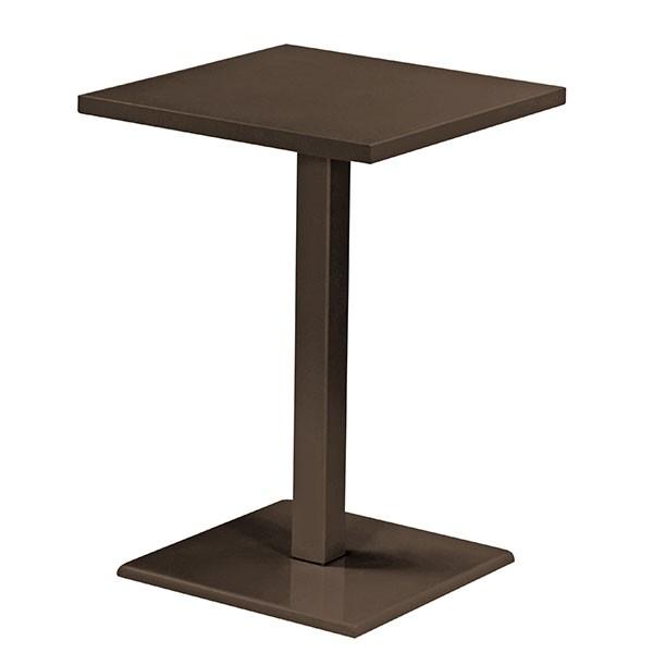 Table haute round jardinchic for Table 6 haute pocket