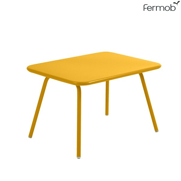 Table Luxembourg Kid Miel Fermob Jardinchic