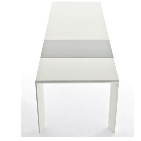 Table rectangulaire a rallonge l210cm grande arche for Grande table a rallonge