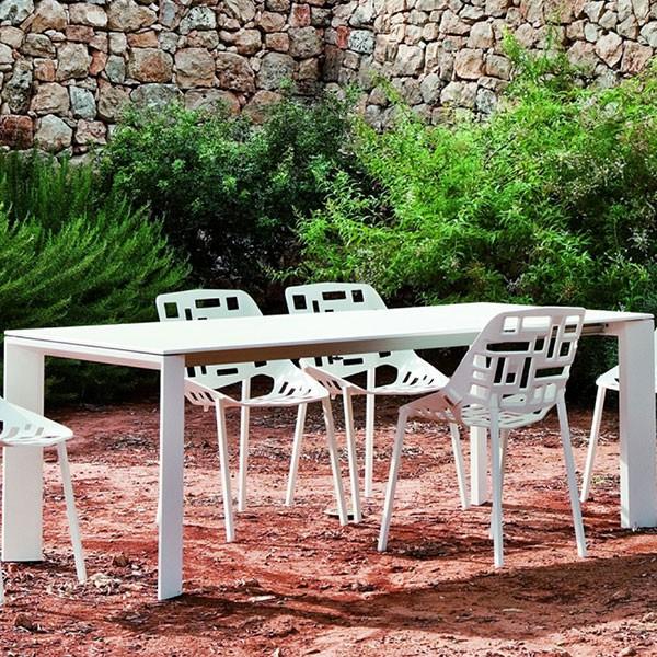 Table Rectangulaire A Rallonge L270cm Grande Arche - JardinChic