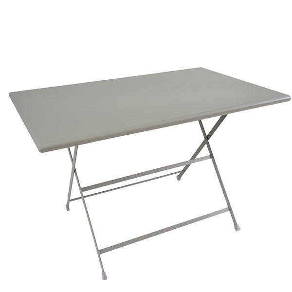Table Rectangle Pliable Arc-en-Ciel - JardinChic