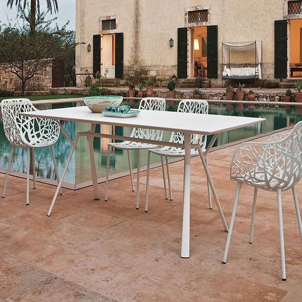 Table Rectangulaire L150cm Radice Quadra Fast JardinChic