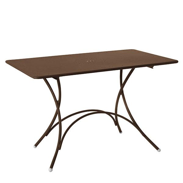 Table pigalle rectangulaire pliable jardinchic - Table exterieur pliable ...
