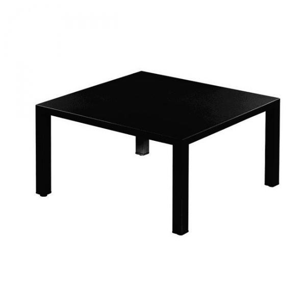 table basse carre noire simple achat vente table basse table basse carr en verre cdiscount with. Black Bedroom Furniture Sets. Home Design Ideas