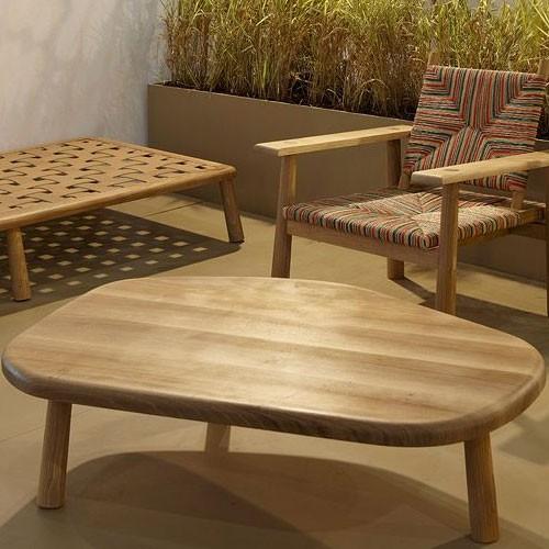 table basse galet jardinchic. Black Bedroom Furniture Sets. Home Design Ideas