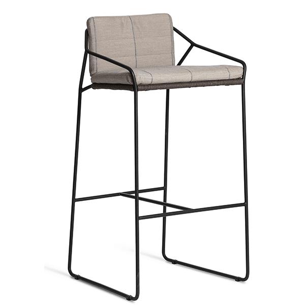 coussin assise dossier pour tabouret de bar sandur jardinchic. Black Bedroom Furniture Sets. Home Design Ideas
