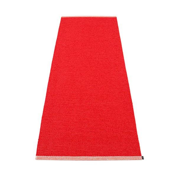 Tapis Mono Coral Red 85x160 Pappelina JardinChic