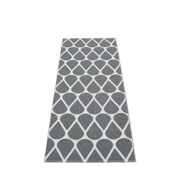 Tapis Otis Granit - Fossil Grey Recto 70x200 Pappelina JardinChic