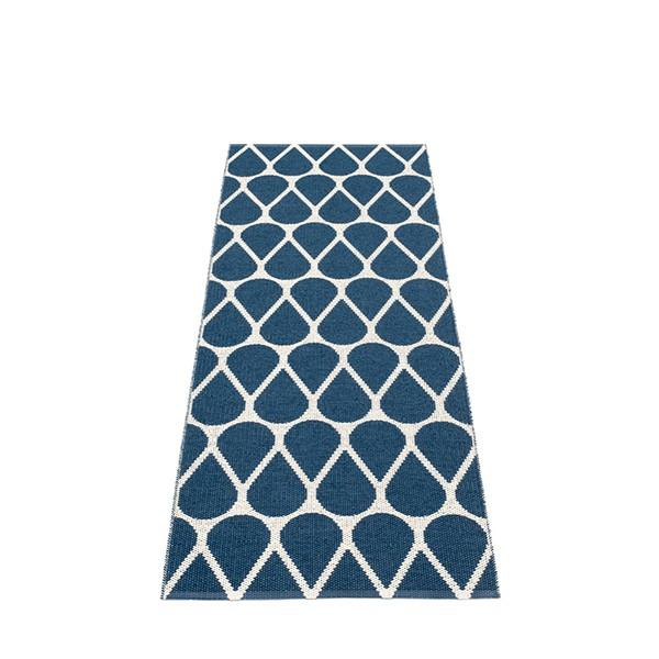 Tapis Otis Ocean blue - Vanilla Recto 70x200 Pappelina JardinChic
