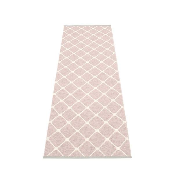 Tapis Rex Pale Rose - Vanilla 70x240 Pappelina JardinChic