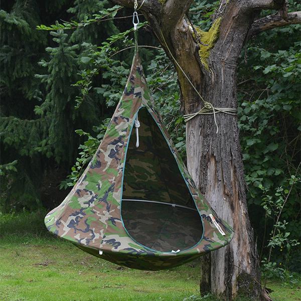 cacoon tente suspendue jardinchic. Black Bedroom Furniture Sets. Home Design Ideas