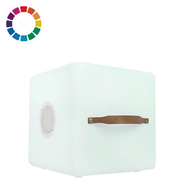 Enceinte Lumineuse sans fil The.Cube Nikki.Amsterdam Jardinchic